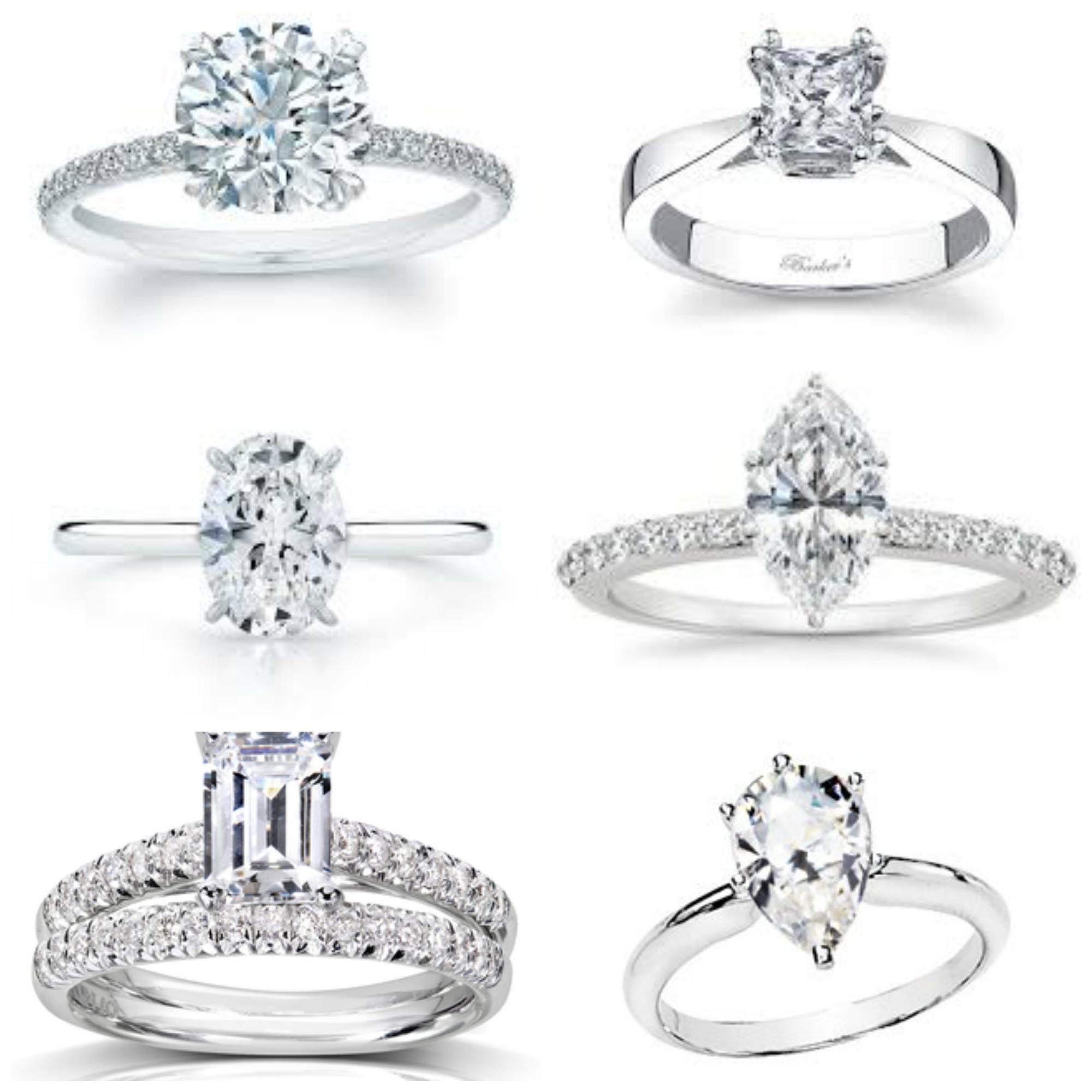 Traditional Diamond Shape Options